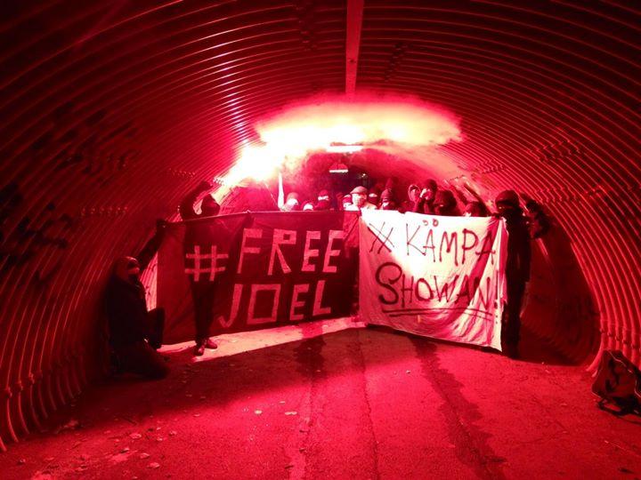 Helsinki: Vapautta Joelille! Taistele Showan!