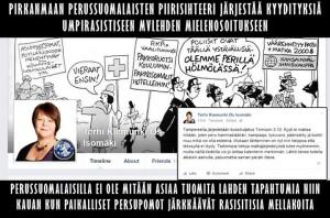 Tehri Kiemunki perusssuomalaiset rasismi kkk suomen sisu