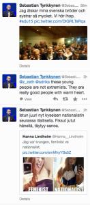 Sebastian Tynkkynen fasisti SDU uusfasismi natsi