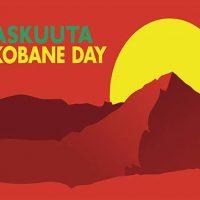 HKI 1.11. World Kobane Day -mielenosoitus