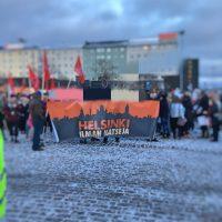Raportti vuoden 2017 Helsinki ilman natseja -mielenosoituksesta