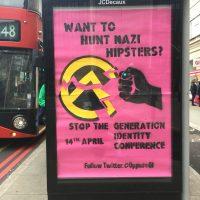 Hipsterinatsit suuntaavat Lontooseen viettämään rasistista viikonloppua