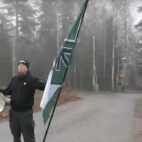 Natsit häiritsivät koulurauhaa Helsingin Rastilassa