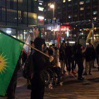Kansainvälistä Kobane-päivää vietettiin Helsingissä ja Tampereella