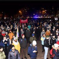 Antifasistit järjestivät jälleen itsenäisyyspäivän suurimman mielenosoituksen