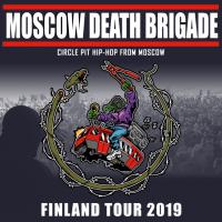 5.-9.6. Moscow Death Brigade -kiertue Hki, Tre, Kvl, Jkl, Tku