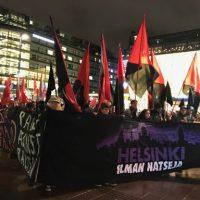 TIEDOTE: Noin 2700 osoitti mieltään äärioikeistoa vastaan