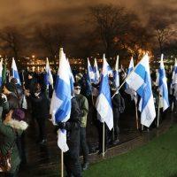 Analyysi itsenäisyyspäivän natsimarssista: Soldiers of Odinin siipien suojissa marssiminen kertoo Pohjoismaisen Vastarintaliikkeen alennustilasta