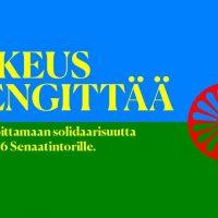 Helsinki: Oikeus hengittää-mielenosoitus 5.6.2021