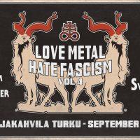 Turku: Love Metal, Hate Fascism! (Vol.4)  10.9.2021